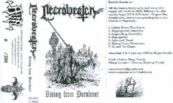 NECROWRETCH - Rising From Purulence
