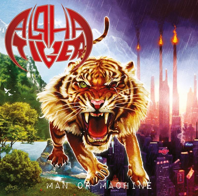 ALPHA TIGER - Man Or Machine