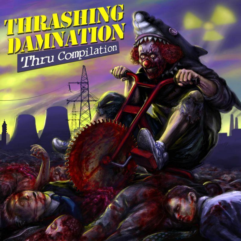 A.A.V.V. - Trashing Damnation Thru Compilation