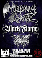 OCCULT BLACK DEATH NIGHT (27/10/2012 @ United Club, Torino)