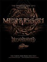 MESHUGGAH + Decapitated + C.B. Murdoc (05/12/2012 @ Alcatraz, Milano)