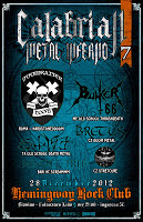 CALABRIAN METAL INFERNO 7.0 (28/12/2012 @ Hemingway Club, Catanzaro Lido)