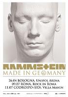 RAMMSTEIN - Made In Germany (26/04/2013 @ Unipol Arena, Casalecchio di Reno, Bologna)