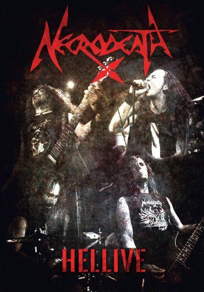 NECRODEATH - Hellive [DVD]