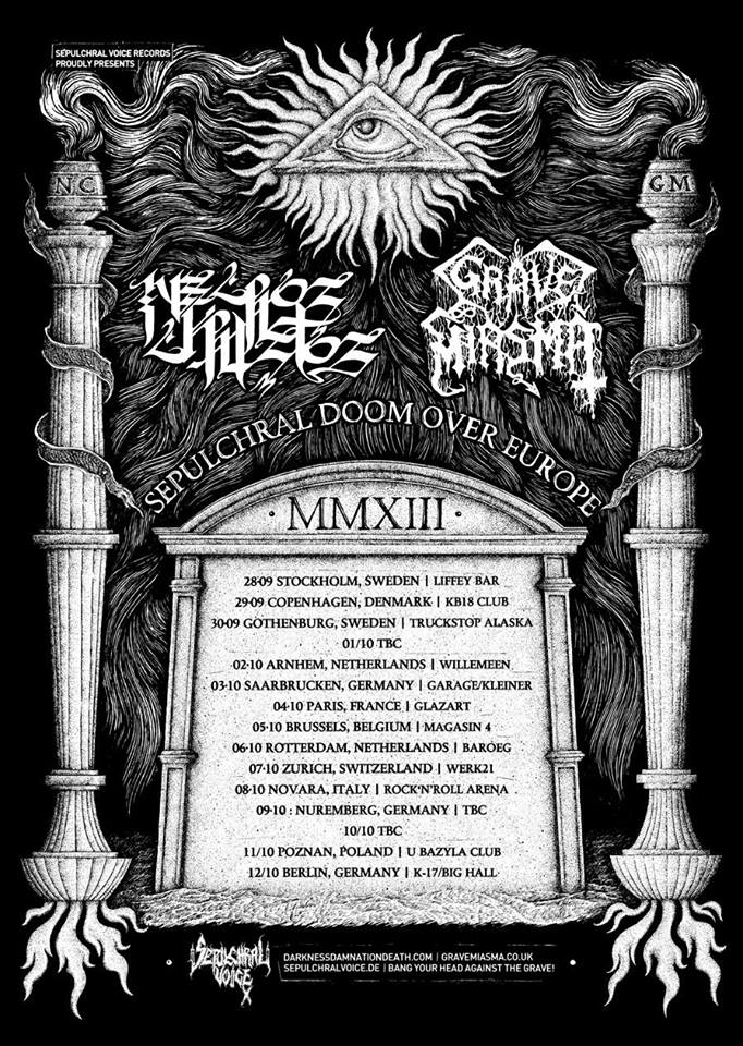 SEPULCHRAL DOOM OVER EUROPE