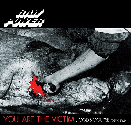 RAW POWER - You Are The Victim / God's Course