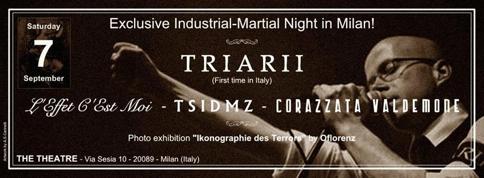 SINE ARMISTITIO (07/09/2013 @ The Theatre, Rozzano)