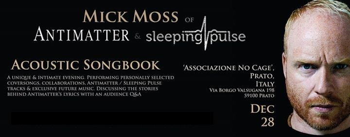 MICK MOSS - Acoustic Songbook (28/12/2014 @ No Cage, Prato)