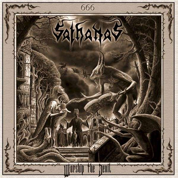 SATHANAS - Worship The Devil