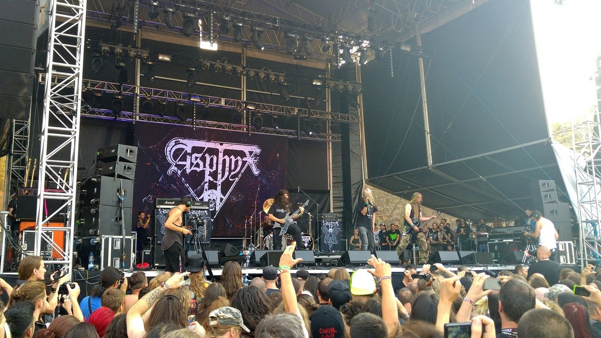 BRUTAL ASSAULT 2015 - Asphyx