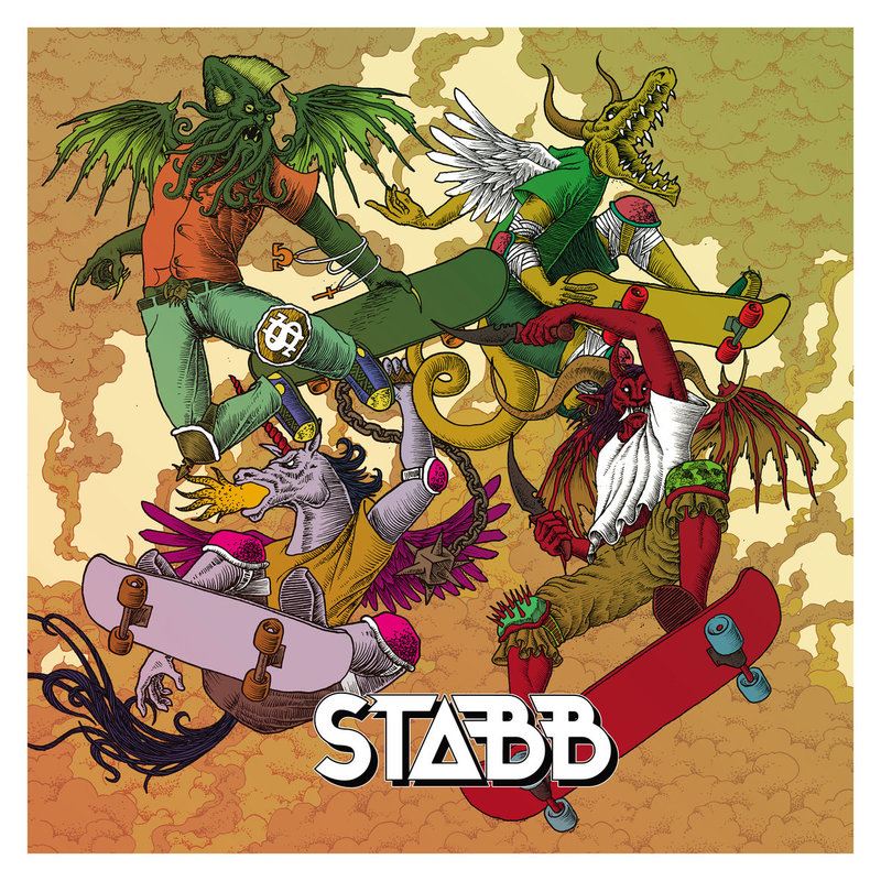 STABB - The Four Skateboarders Of The Apocalypse