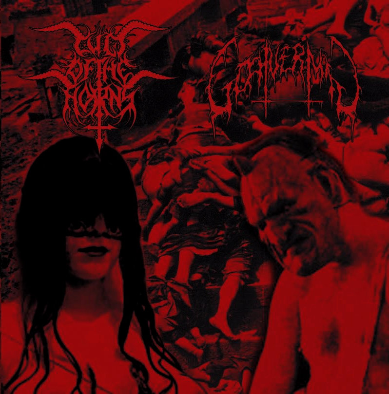 CULT OF THE HORNS / GOATVERMIN - Split