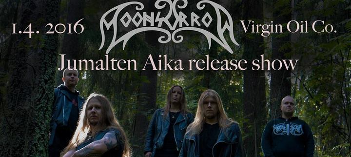 MOONSORROW + Alghazanth - Jumalten Aika Release Show (01/04/2016 @ Virgin Oil, Helsinki)