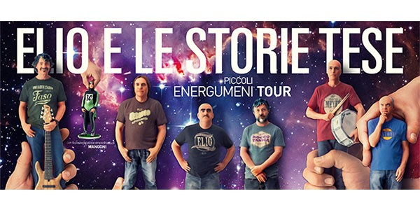 ELIO E LE STORIE TESE - Piccoli Energumeni Tour 2016 (29/04/2016 @ Forum di Assago, Milano)