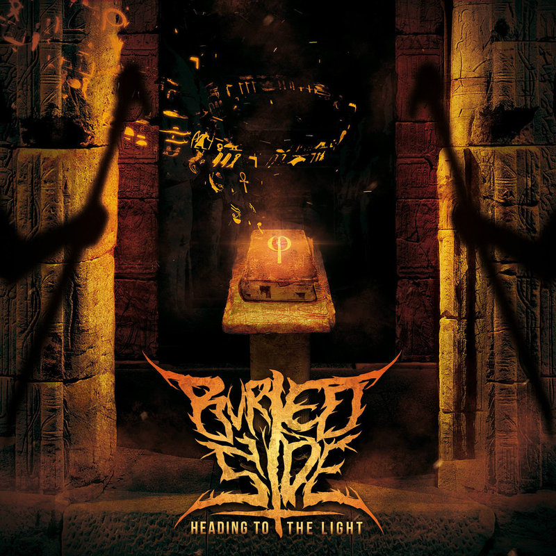 BURIED SIDE - Heading To The Light