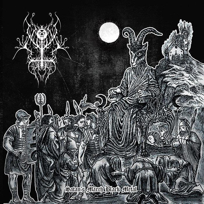 AD NOCTEM FUNERIIS - Satan's March Black Metal