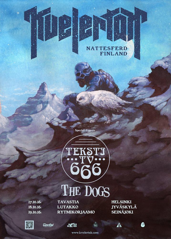 KVELERTAK - Nattesferd Tour (17/10/2016 @ Tavastia, Helsinki)