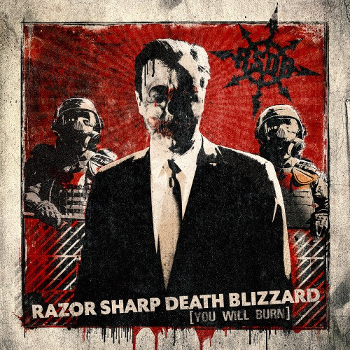 RAZOR SHARP DEATH BLIZZARD - You Will Burn