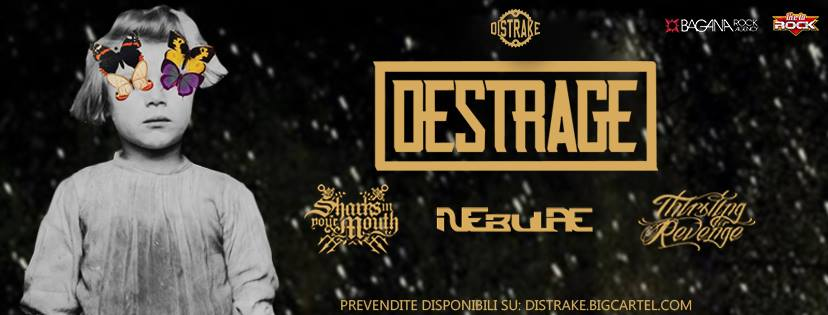 DESTRAGE + Sharks In Your Mouth + Nebulae + Thirsting For Revenge (03/02/2017 @ Sound Music Club, Frattamaggiore)