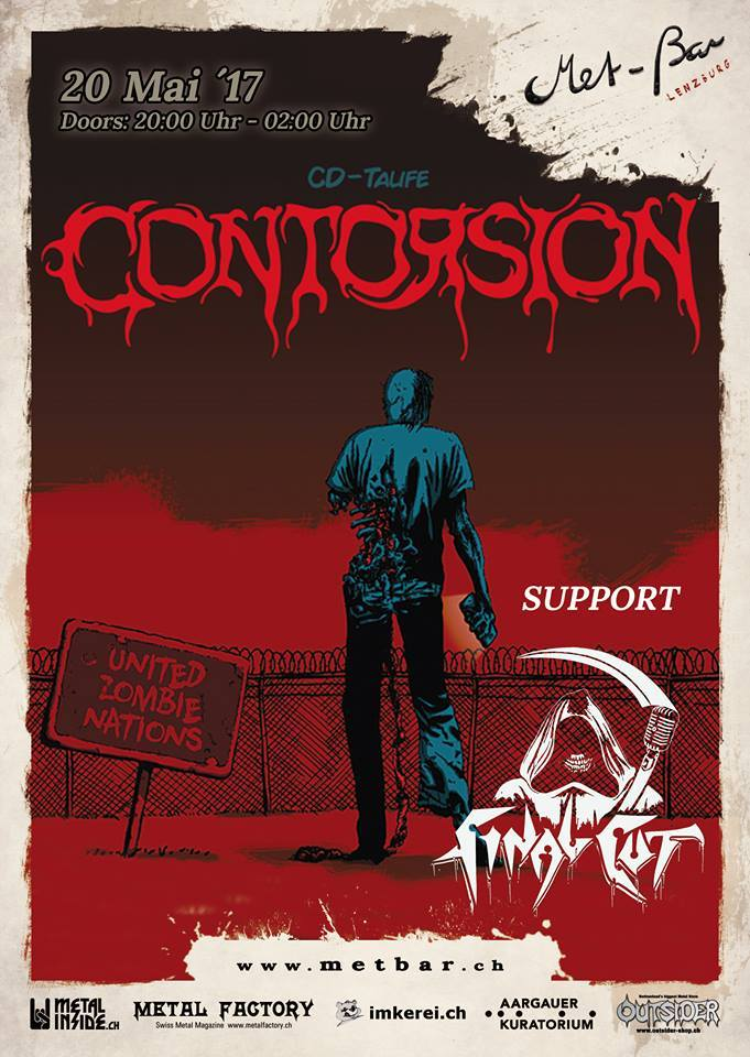 "CONTORSION - Showcase ""United Zombie Nations"""