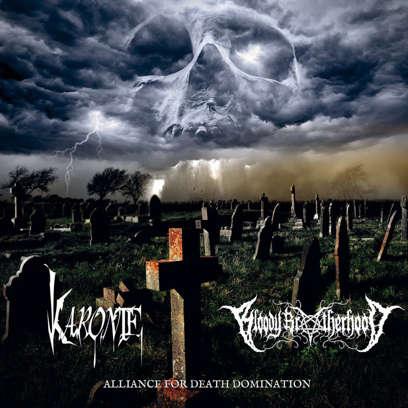 KARONTE / BLOODY BROTHERHOOD - Alliance For Death Domination