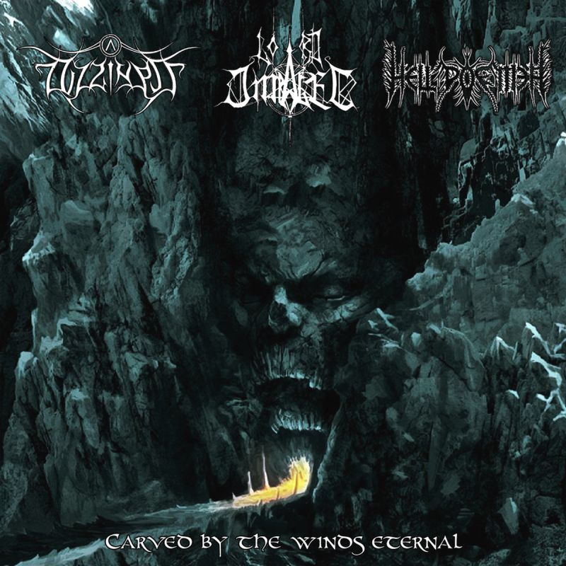 DIZZINESS / LORD IMPALER / HELL POEMER - Carved By The Winds Eternal