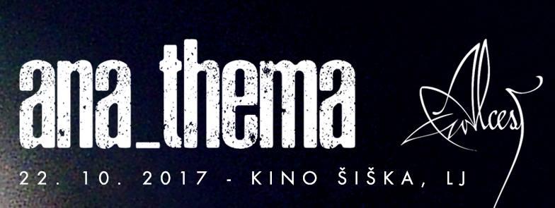ANATHEMA + Alcest (22/10/2017 @ Kino Šiška, Ljubljana)