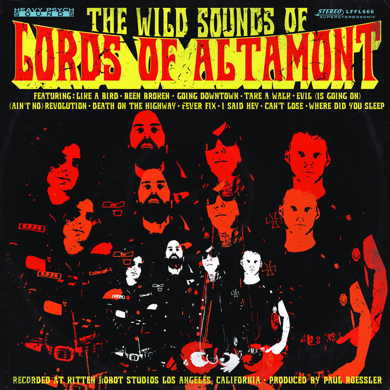 THE LORDS OF ALTAMONT - The Wild Sound Of The Lords Of Altamont