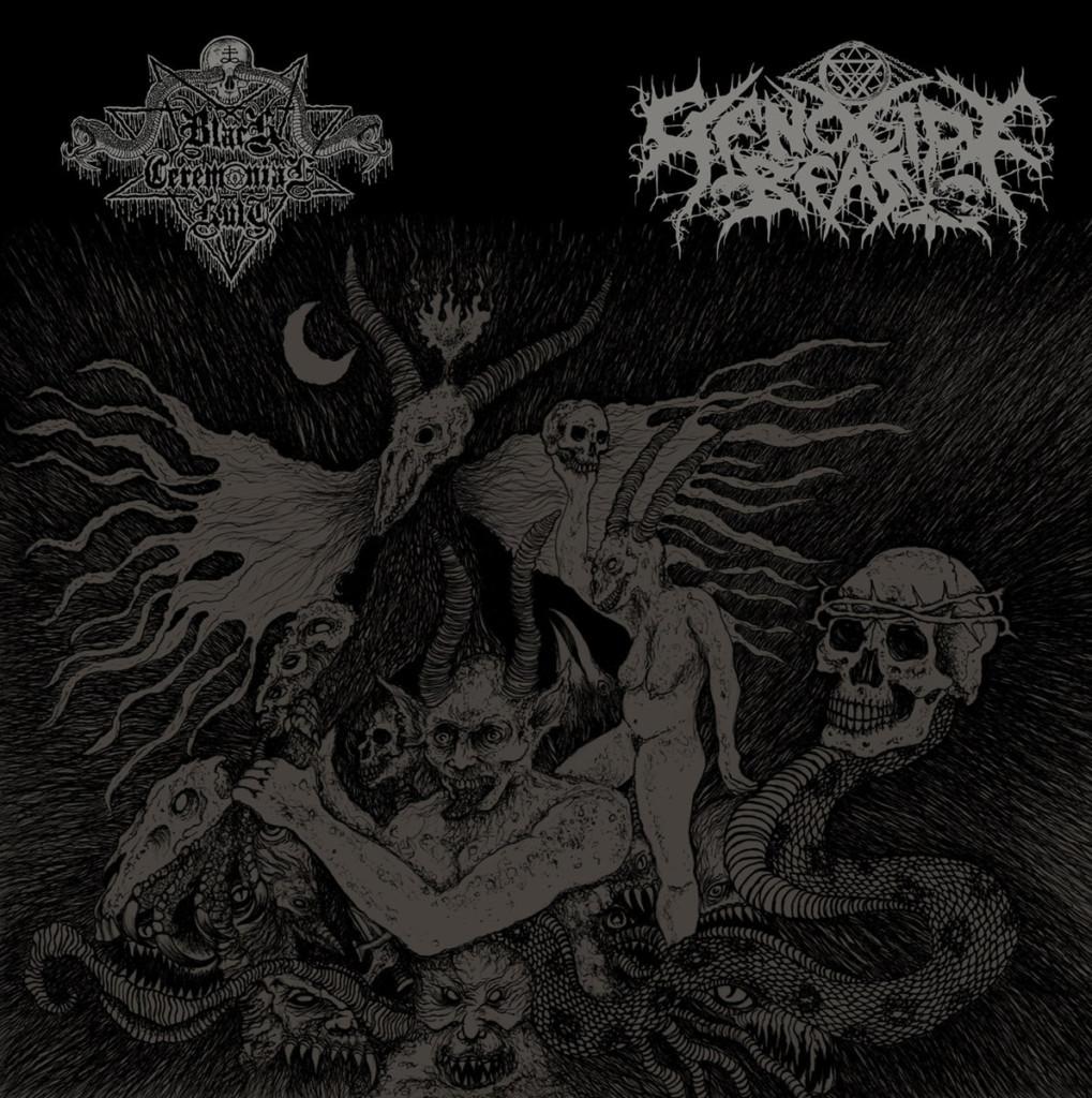 BLACK CEREMONIAL KULT / GENOCIDE BEAST - Demo XXIV / Demo XXV
