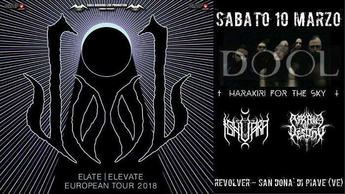 DOOL + Harakiri For The Sky (10/03/2018 @ Revolver Club, San Donà di Piave)