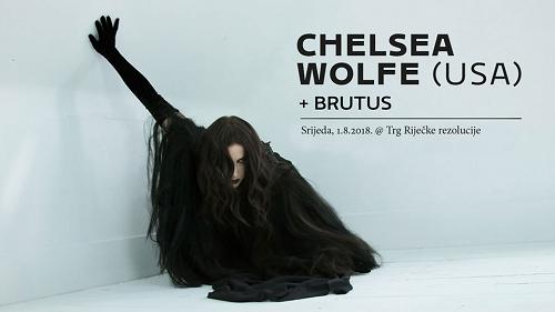 CHELSEA WOLFE + Brutus (01/08/2018 @ Trg Riječke Rezolucije, Rijeka)