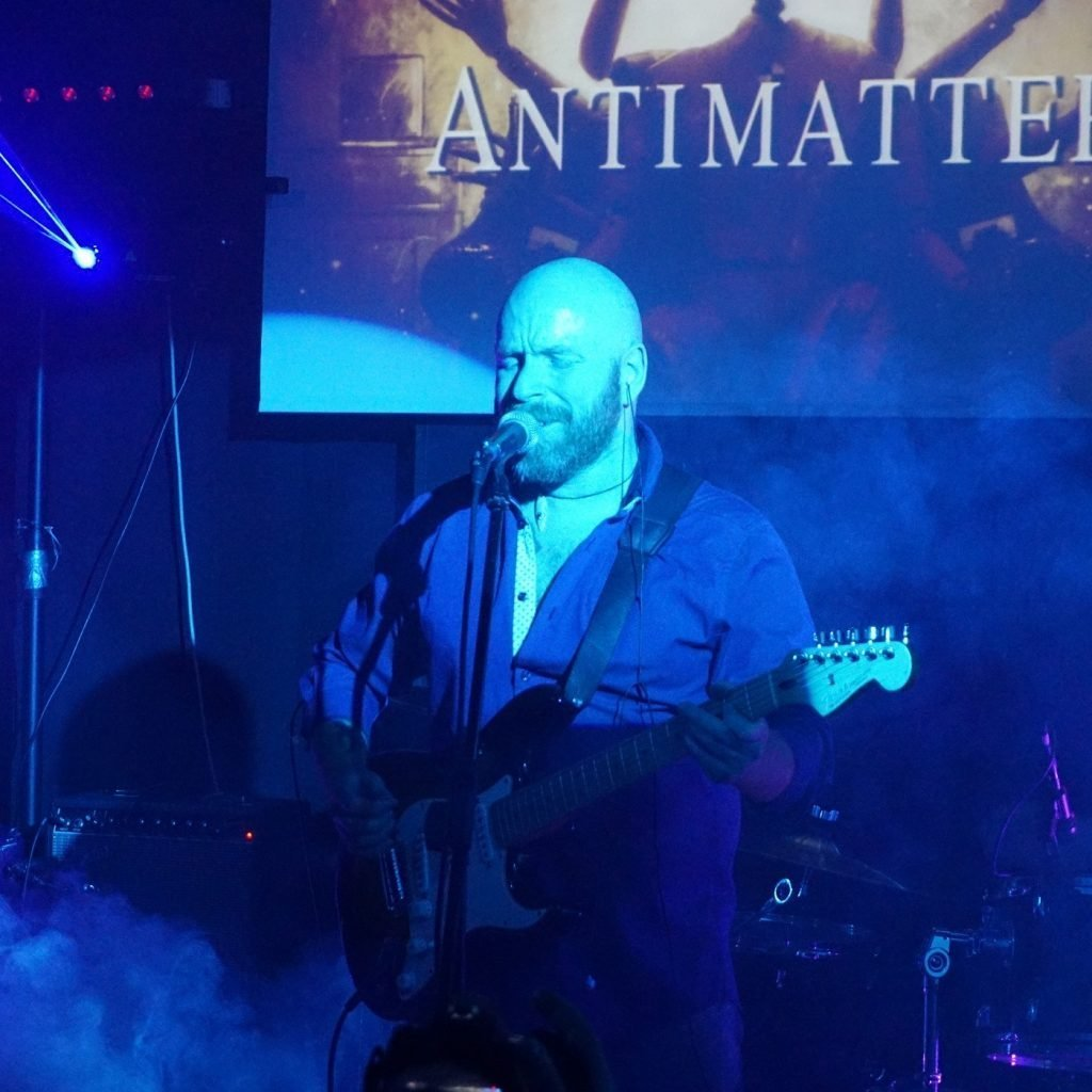 AN ELECTRIC EVENING OF ANTIMATTER (27/03/2019 @ Wishlist Club, Roma)