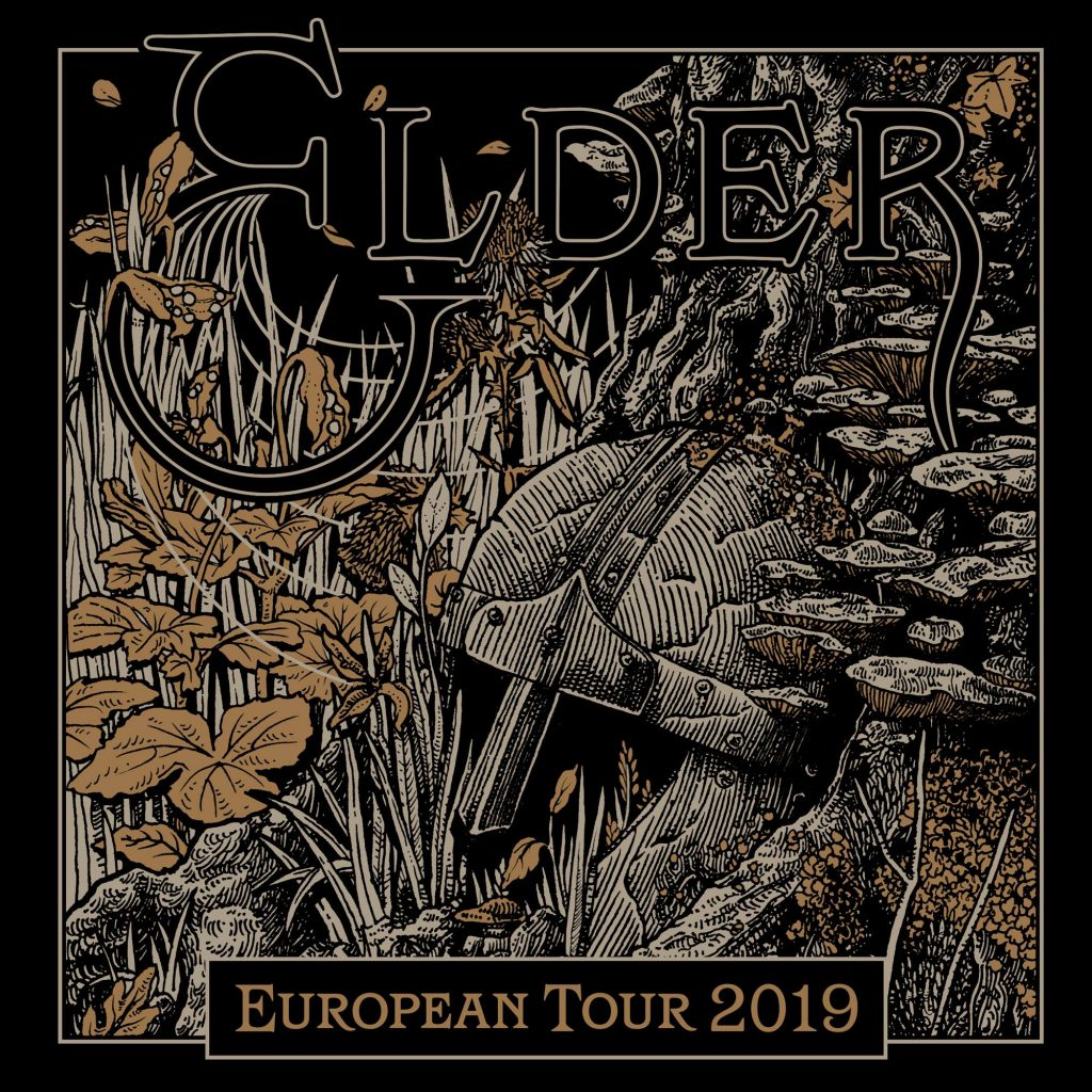 ELDER + Common Eider, King Eider (23/05/2019 @ On The Rocks, Helsinki)