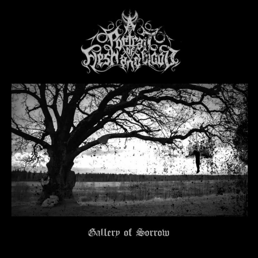 10 ANNI DI BLACK METAL GIAPPONESE: ZERO DIMENSIONAL RECORDS #02 A PORTRAIT OF FLESH AND BLOOD - Gallery Of Sorrow