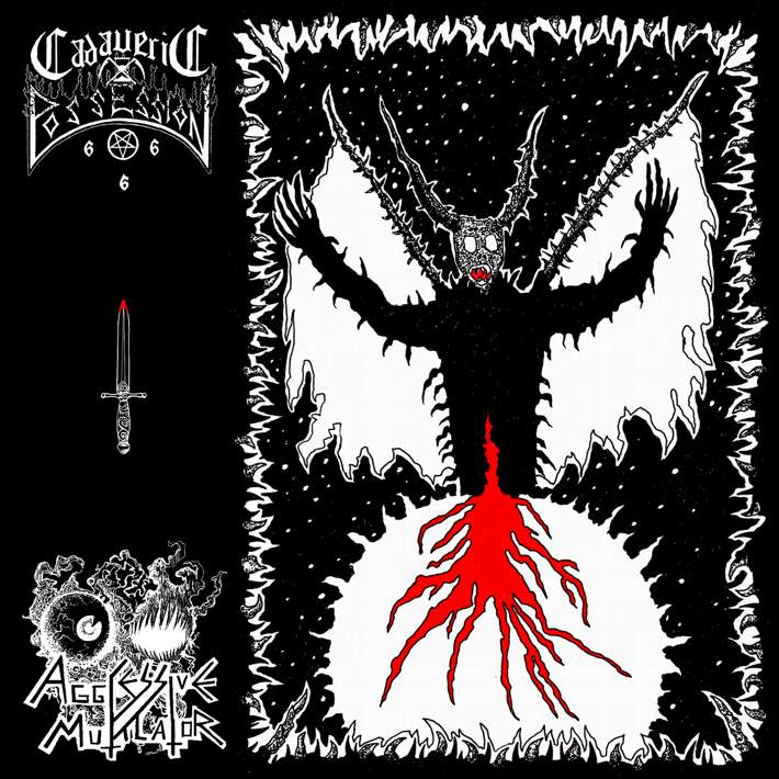 CADAVERIC POSSESSION / AGGRESSIVE MUTILATOR - Influx Of Hatred