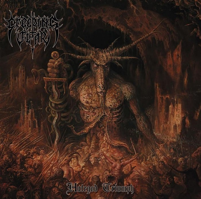 CREEPING FEAR - Hategod Triumph
