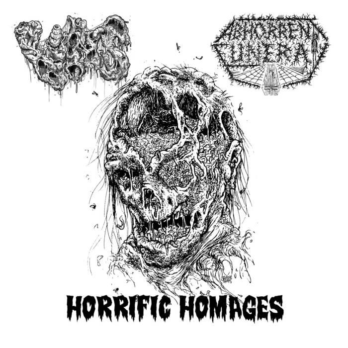 VHS / ABHORRENT FUNERAL - Horrific Homages
